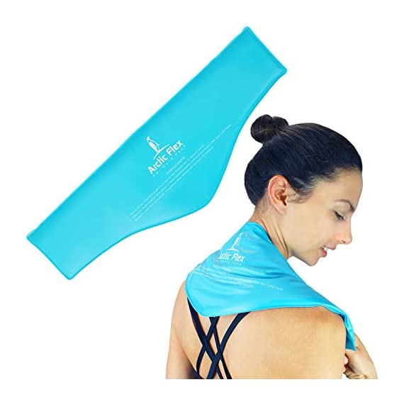 Arctic-Flex-Neck-Ice-Pack-Cold-Compress-Shoulder-Therapy-Wrap-Cool-Reusable-Medical-Freezer-Gel-Pad-for-Swelling-Injuries-Headache-Cooler-Flexible-Hot-Microwaveable-Heat-Men-Women