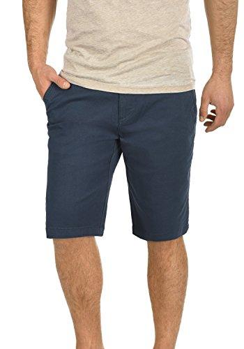 normaleinsigne Bermuda stretchcoupe pantalon Legging Lamego solide chino pour hommes bleu1991 lF1JKc