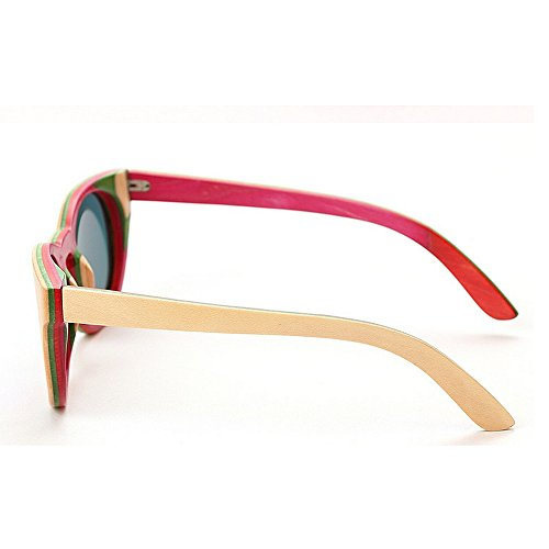 Hecho Ojos Protección Lindo Playa Verano Para Bambú Madera Gato Mujeres Peggy Uv Marco Las Gafas Los Polarizadas De A Gu Mano Sol wqpIfgZ