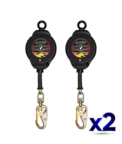 Guardian Fall Protection 42002 Velocity Cable SRL, 30', Pack of 2