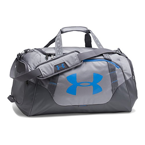 Under Armour Undeniable 3.0 Medium Duffle Bag, Steel/Graphite, One Size
