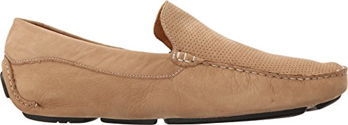Massimo Matteo Mens Perf Nubuck Driver Taupe