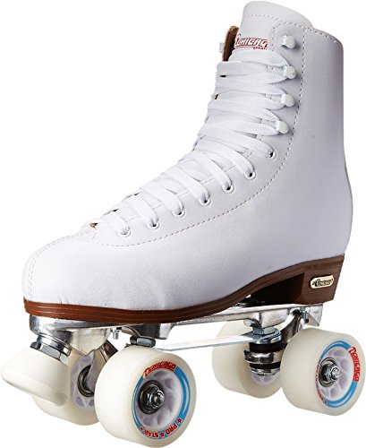 - Chicago Women's Leather Lined Rink Roller Skate (Size 8) (White)