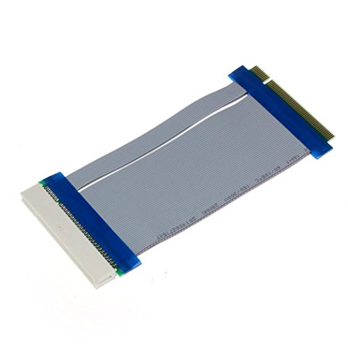 - GOTD 32 Bit Flexible PCI Riser Card Extender Flex Extension Ribbon Cable 1U 2U & 4U