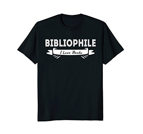 Bibliophile, I Love Books T-Shirt