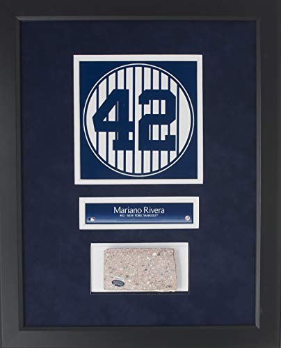 - Mariano Rivera Framed 14x18 NY Yankees Stadium Monument Park Brick Collage Steiner