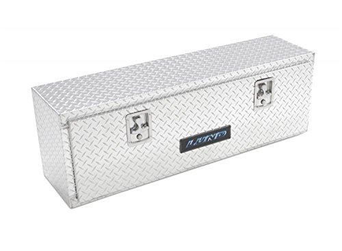 Lund 8160 60-Inch Aluminum Top Mount Truck Tool Box, Diamond Plated, Silver (60 Inch Tool Box)