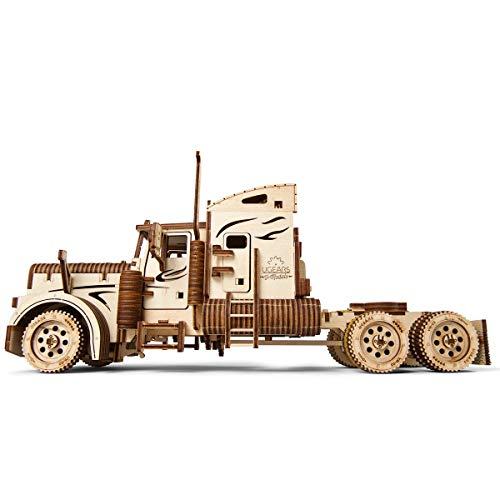 S.T.E.A.M. Line Toys UGears Models 3-D Wooden Puzzle - Mechanical Heavy Boy Mac Truck VM-03