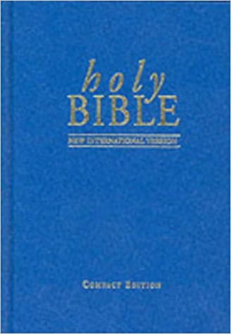 Book NIV Compact Bible blue (Bible Niv)