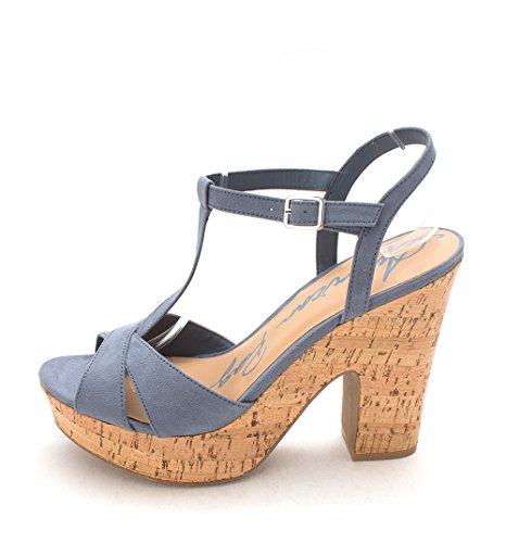 Rag Femme Soft Blue Sandales American RwfECqWxdR