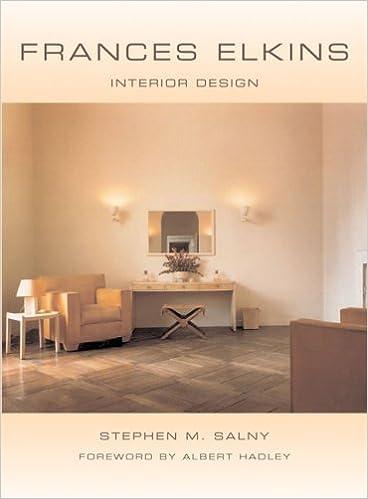 Frances Elkins Interior Design Stephen M Salny Albert Hadley 9780393731460 Amazon Books