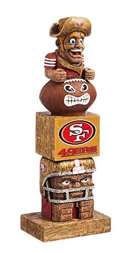 San Francisco 49ers Gear (Evergreen Enterprises NFL San Francisco 49ers Tiki Totem)