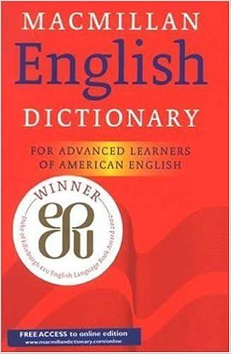 amazon com macmillan english dictionary for advanced learners of