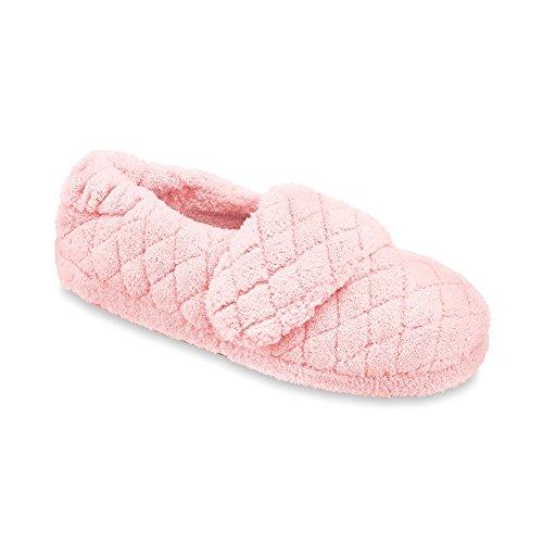 Acorn Women's Spa Wrap Slippers,Pink,S