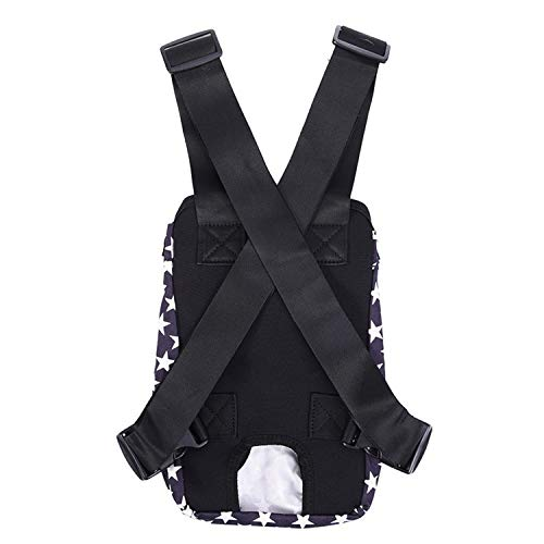 In Front Of The Chest Transport Supplies Doggie Bags Pet Travel,Black,S