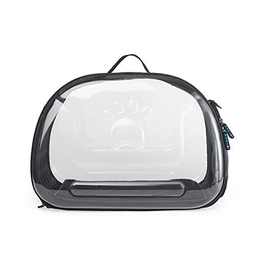 (HYUE Pet Backpack Foldaway Out Portable Pet Bag Vapourous Pet Bag Cat Bag Dog Pet Backpack (Color, Size : 453428CM))
