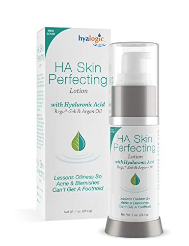 Hyalogic Episilk Hyaluronic Acid Skin Perfecting Lotion Facial Cleansing Lotion W Hyaluronic Acid Regu-SEB to Control Skin Oiliness for Blemish Break-Out Control Renew Facial Treatment 1 Fl oz