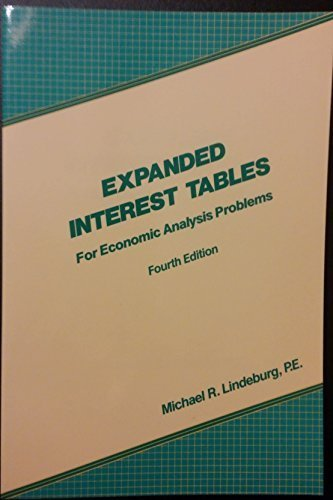 Expanded Interest Tables (Engineering Review Manual Series)