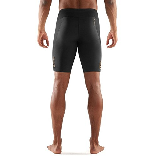 Skins Men's A400 Compression 3/4 Tights, Oblique, X-Small by Skins (Image #3)
