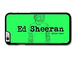 """AMAF ? Accessories Ed Sheeran Afire Love Song case for iPhone 6 Plus (5.5"""")"""