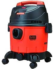 Black & Decker Wet and Dry Tank Drum Vacuum Cleaner, 1400W