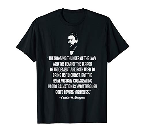 (The Roaring Thunder Of The Law Charles Spurgeon Quote Tshirt)