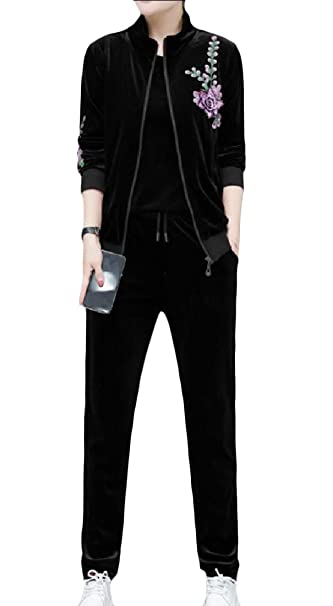 Amazon.com: Cromoncent - Conjunto de traje de terciopelo ...