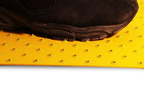 XtremeGrip by GripAll. Yellow studded anti-slip product.  2'' x 24'' by GripAll (Image #2)