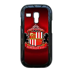 I8190 caso del Sunderland AFC Logo H0U28C4QD funda Samsung Galaxy S3 Mini funda S25TJP negro