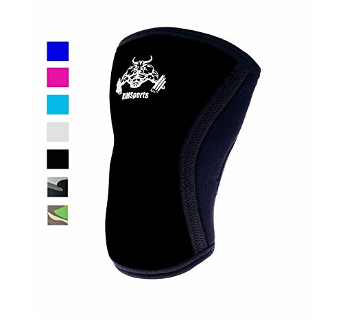 Knee Support For Squats Wrap Knee Sleeve 7mm Neoprene Sleeve