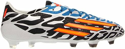 1d73948464b Adidas F50 Adizero-Messi Battle Pack TRX FG Soccer Cleats Shoe - Core White Solar  Gold Black - Mens - 11.5
