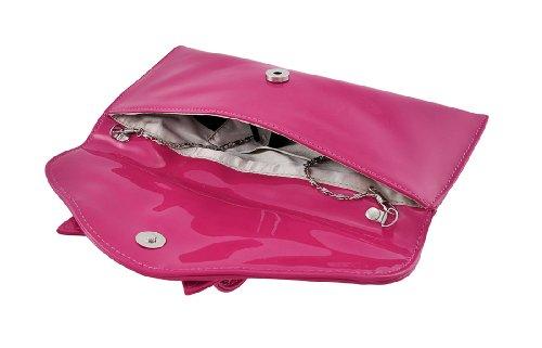 Pink Hot De Mujer Zeckos Cartera Mano SwUOzCq