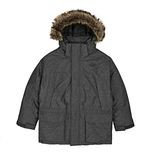 The North Face BOYS' MCMURDO DOWN PARKA color: TNF MEDIUM GREY HEATHER size: MD (10-12 Big Kids) by The North Face