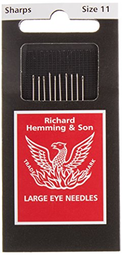 Colonial Needle 10 Count Richard Hemming Sharps Needle, Size 11