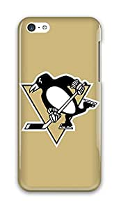 Pittsburgh Penguins NHL PC Hard iphone 5c case for teen girls clear case