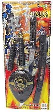 Juego Ninja Samurai Máscara Espada Katana Nunchakus Juegos ...
