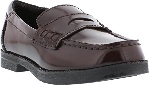 Kenneth Cole Reaction Loaf-er 2 Penny Loafer (Toddler/Little Kid),Burgundy,8.5 M US Toddler