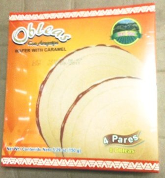 Wafer With Caramel - Colombian Food Products