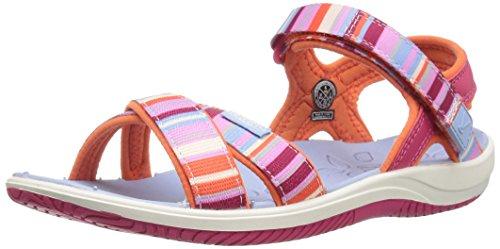 KEEN Kids' Phoebe Dress Sandal, Bright Rose Raya, 6 M US Big Kid