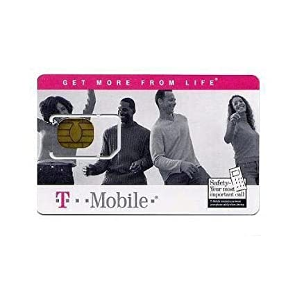 T-mobile Sim Card Brand New Unactivated Replacement (not for activating pre-paid service)