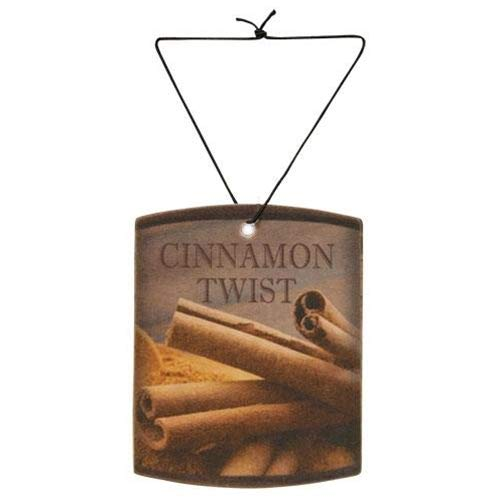 A Cheerful Giver A Farm Fresh Cinnamon Twist Car Air Freshener, Multi