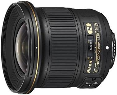 Nikon Lens Nikkor Af S 20 Mm F 1 8 Ed Black Nikon Card 4 Year Warranty