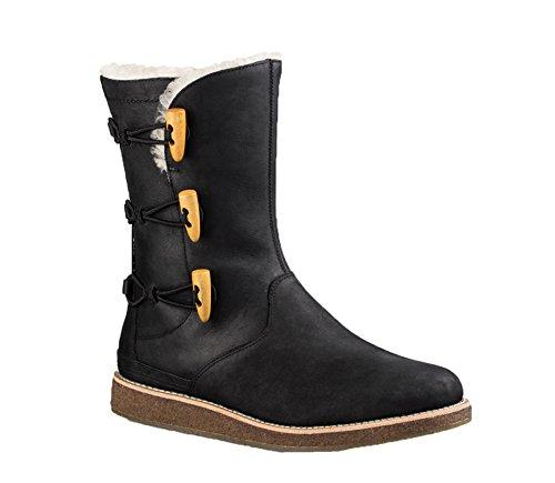 ugg-womens-kaya-shearling-boot-black-size-6