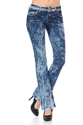 Arizona Carpenter Shorts (VIRGIN ONLY Women's Slim Fit Straight Leg Washed Denim Jeans (Acid Blue , Size 11))