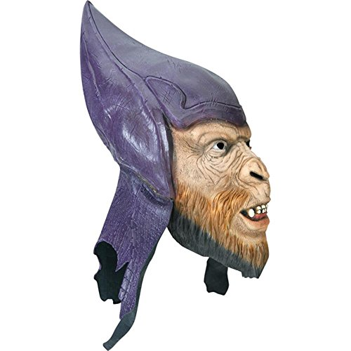 [Adult Deluxe Planet Of The Apes Thade Costume Mask] (Planet Of The Apes Costumes)