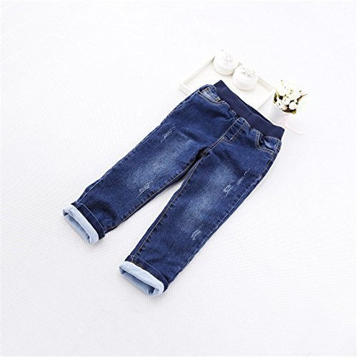Los niños ropa de bebé en el doble de gruesa pantalones ...