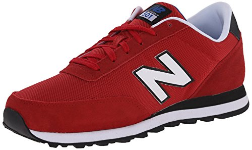 New Balance Men's ML501 Classics Core Running Shoe, Red/Black, 10.5 D US