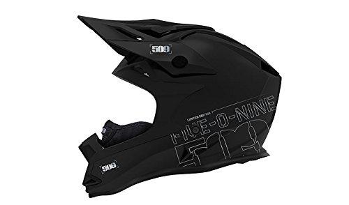509 Altitude Snowmobile Helmet Fidlock - Black Flake Limited Edition (Large)