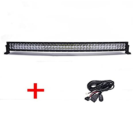 Amazon thenese led light bar 42inch 560w cree curved off road thenese led light bar 42inch 560w cree curved off road fog driving combo truck atv wiring aloadofball Gallery