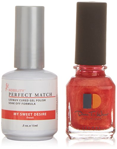 LECHAT Perfect Match Nail Polish, My Sweet Desire, 0.500 Ounce